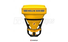 JF Helix 600 Distribuidores de Fertilizantes, Calcário e Semeadeira